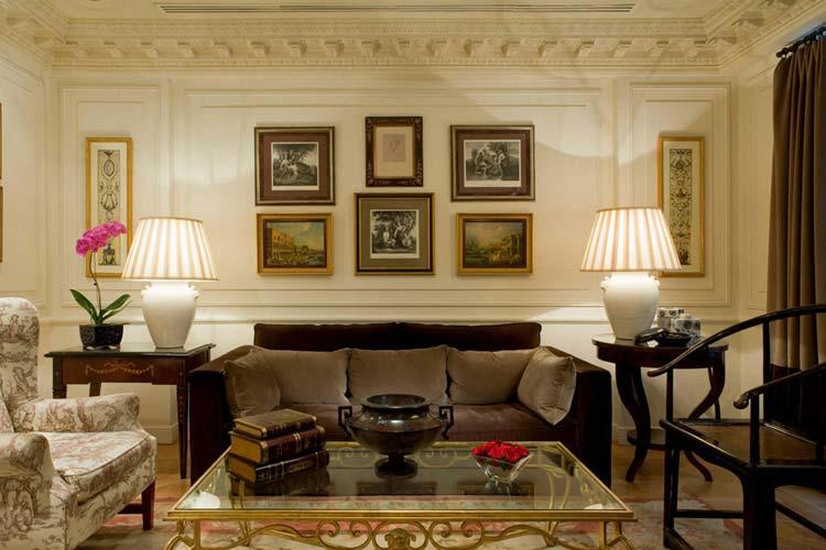Lounge - Hotel François 1er - Paris