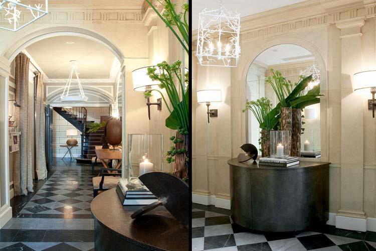 Hall - Hotel Recamier - Paris