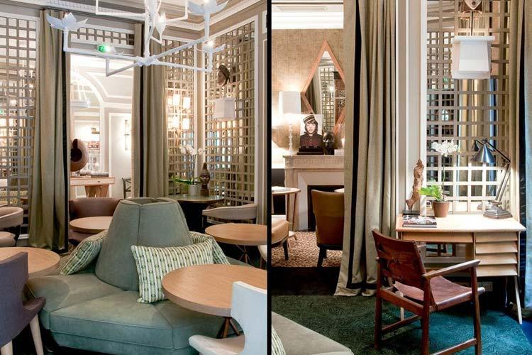 Common Areas - Hotel Recamier - Paris