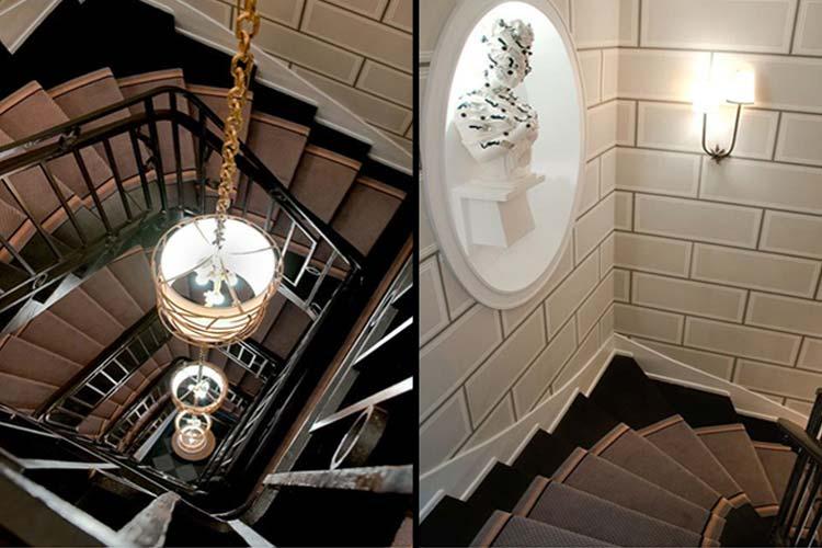 Staircase - Hotel Recamier - Paris