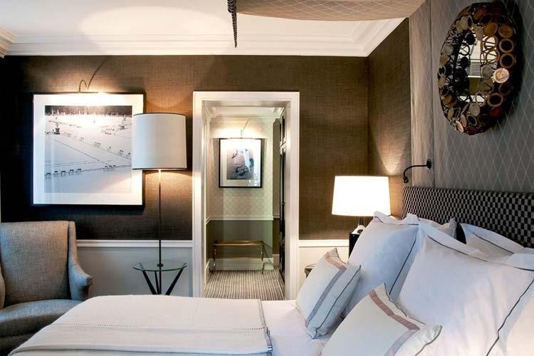 Club Room - Hotel Recamier - Paris