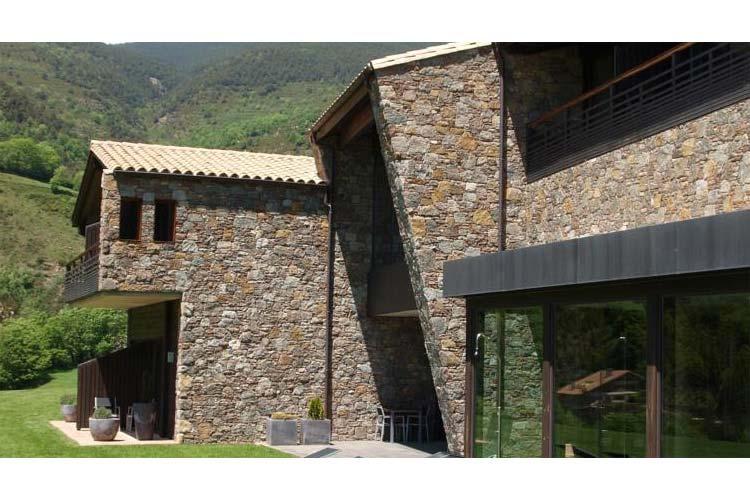 Facade - Hotel Resguard dels Vents - Ribes de Freser
