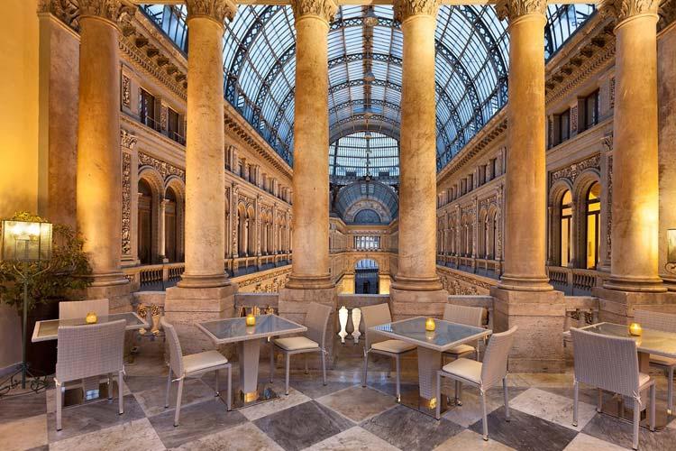 Terrace - Art Hotel Galleria Umberto - Naples