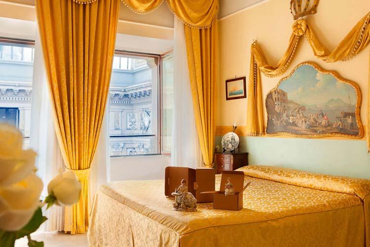 Umberto Gallery Room - Art Hotel Galleria Umberto - Neapel