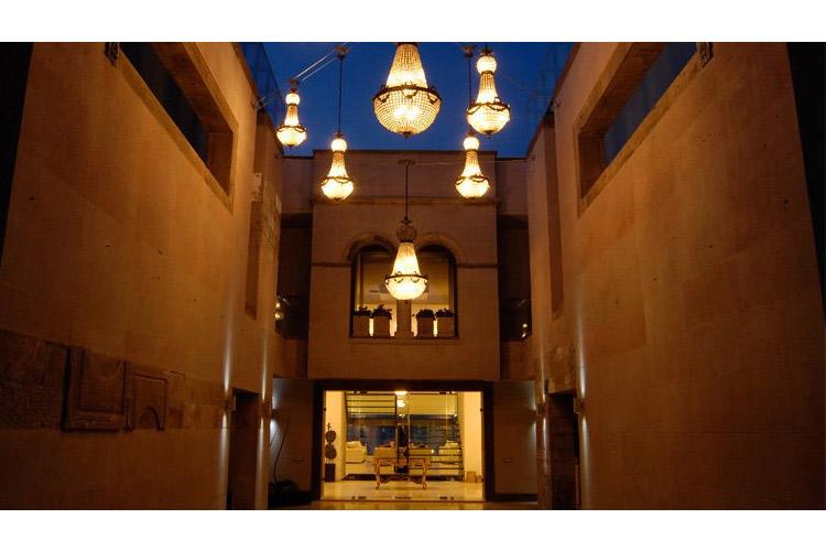 Exteriors at Night - Casa Dell'Arte - Torba