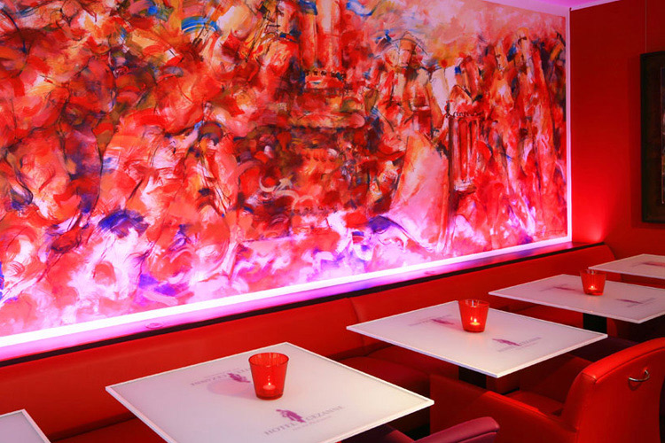 Dining Room - Hotel Cezanne - Aix-en-Provence
