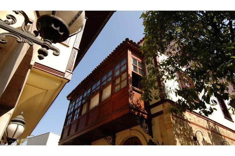 Detail of the Facade - Tuvana Hotel - Antalya