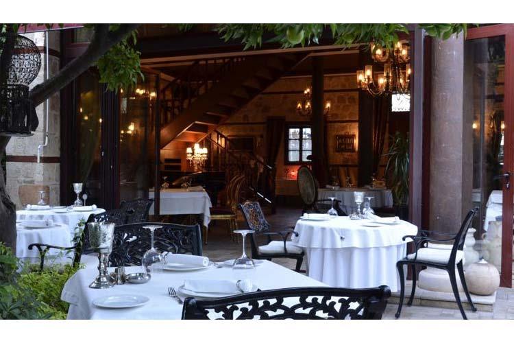 Terrace of the Restaurant - Tuvana Hotel - Antalya