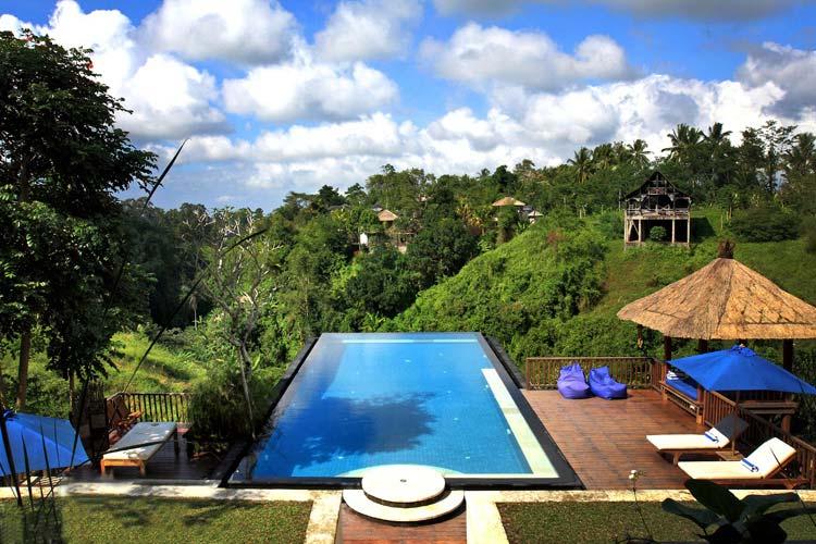 Swimming Pool - Amori Villa - Pejeng Kawan