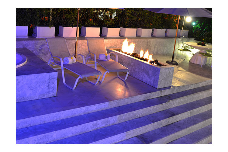 Terrace of Presidential Suite - Anticavilla Hotel & Spa - Cuernavaca