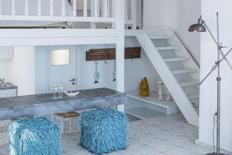 Luxury One Bedroom Maisonette - Almyra Guest Houses - GREECE