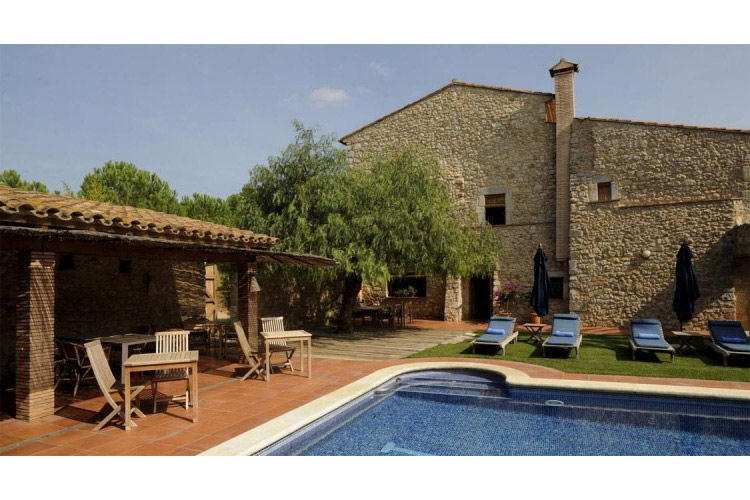 Swimming-Pool - Mas Falgarona - Costa Brava