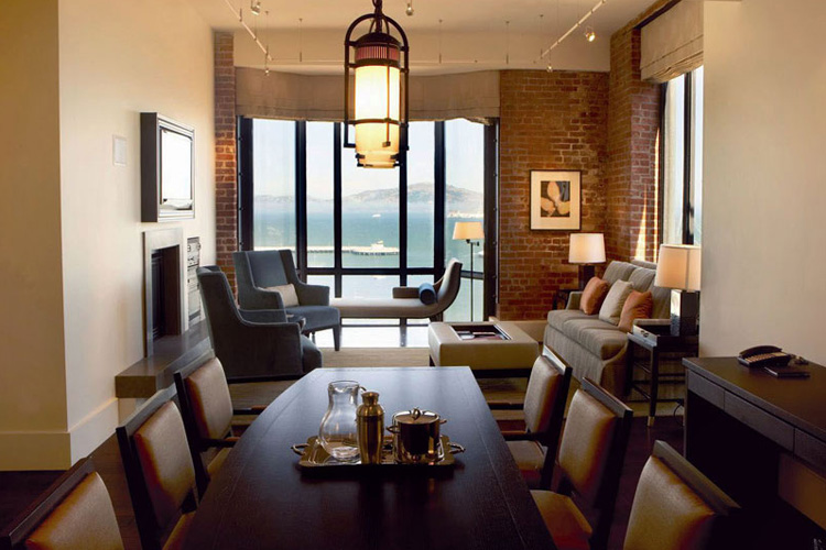 The fairmont heritage place ghirardelli square a boutique for Great small hotel
