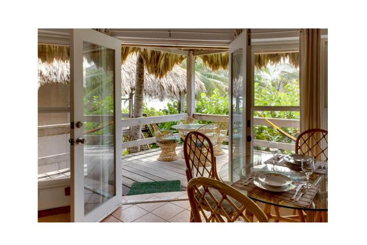 Living Room with Terrace - Xanadu Island Resort Belize - San Pedro