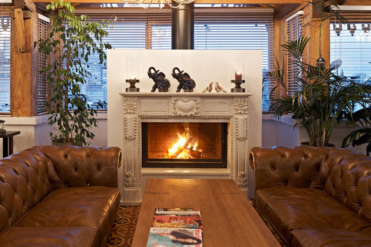 Lounge Fireplace - The House Hotel Galatasaray - Istanbul