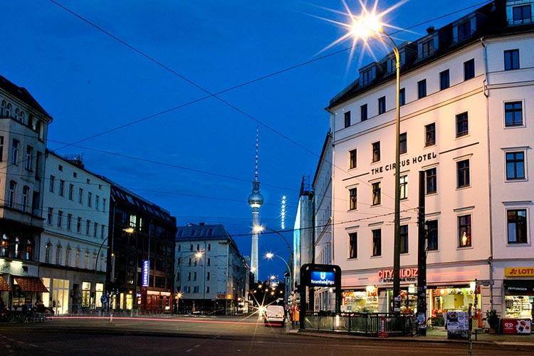 The circus hotel ein boutiquehotel in berlin for Small great hotels