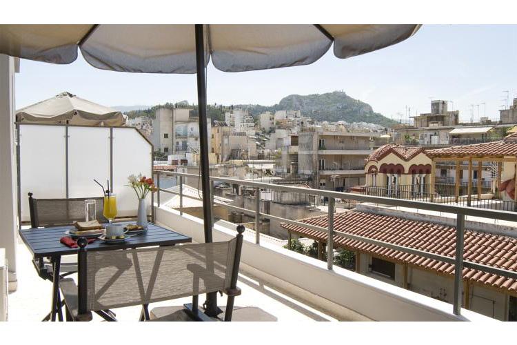 Terrace - Hotel Areos - Atenas