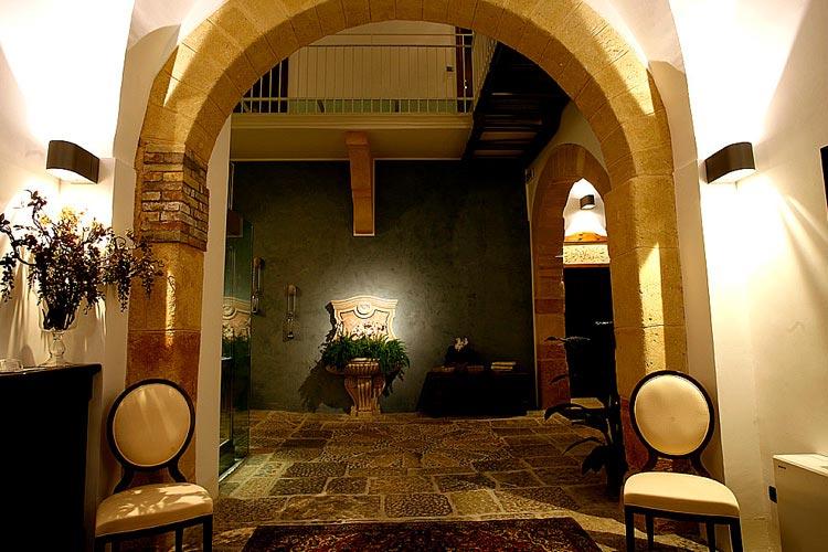 Entrance - Hotel Carmine - Marsala