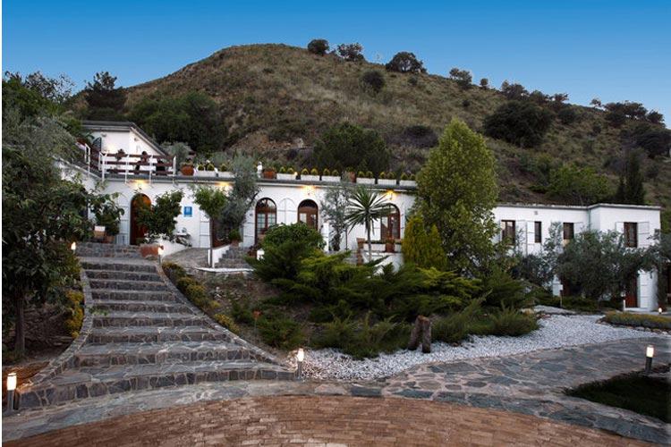 Facade - La Almunia del Valle - Grenade