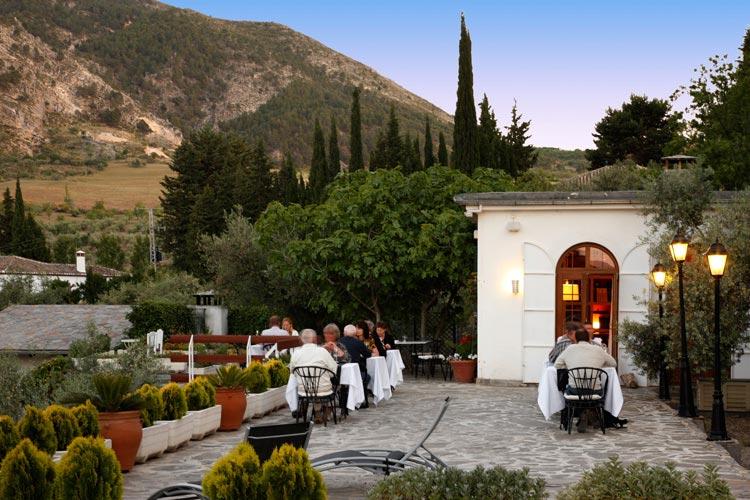 Terrace - La Almunia del Valle - Grenade