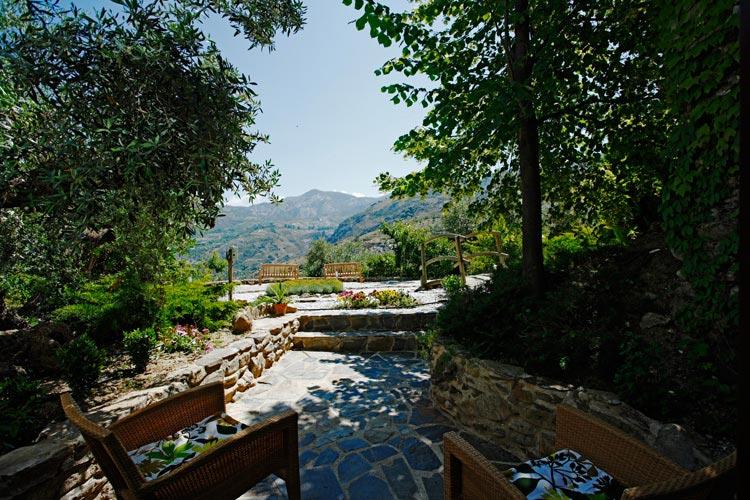 Garden - La Almunia del Valle - Grenade