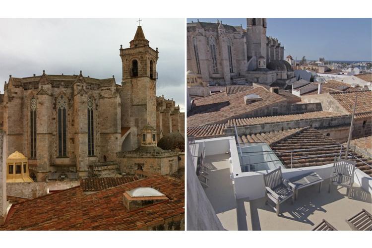 Terrace View - Hotel Tres Sants - Ciudadella