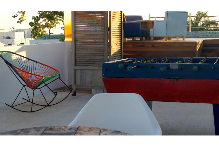 Details of the Terrace - Be Playa - Playa del Carmen