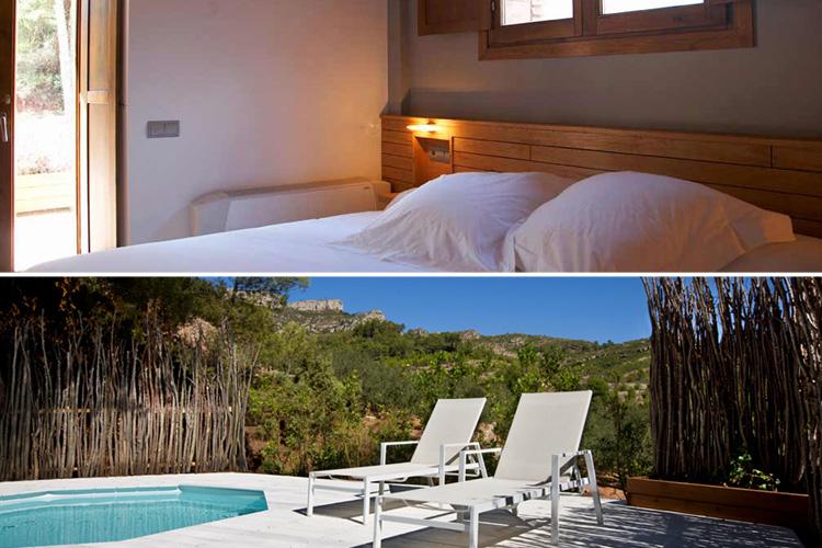 Room 1 - Hotel Mas Mariassa - Pratdip