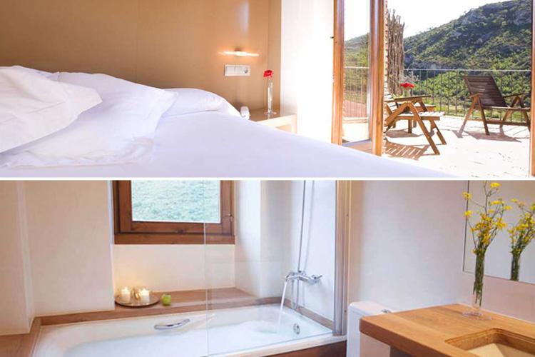 Room 2 - Hotel Mas Mariassa - Pratdip