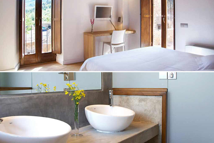Room 4 - Hotel Mas Mariassa - Pratdip