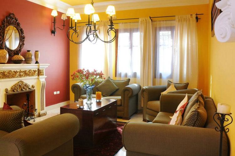 Fireplace Room - Casa Arequipa - Arequipa