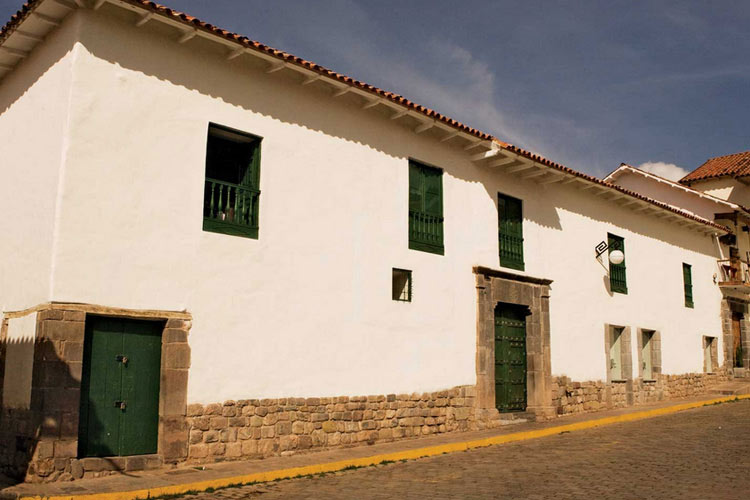 Facade  - Inkaterra La Casona - Cusco