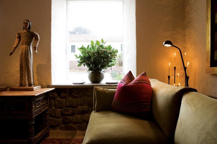 Living Room - Inkaterra La Casona - Cusco