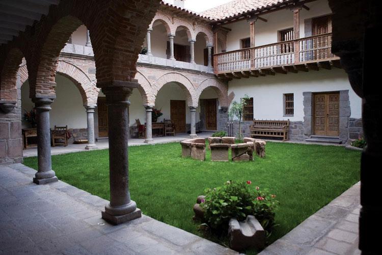 Courtyard - Inkaterra La Casona - Cusco
