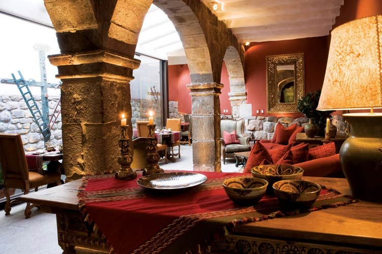 Lounge - Inkaterra La Casona - Cusco