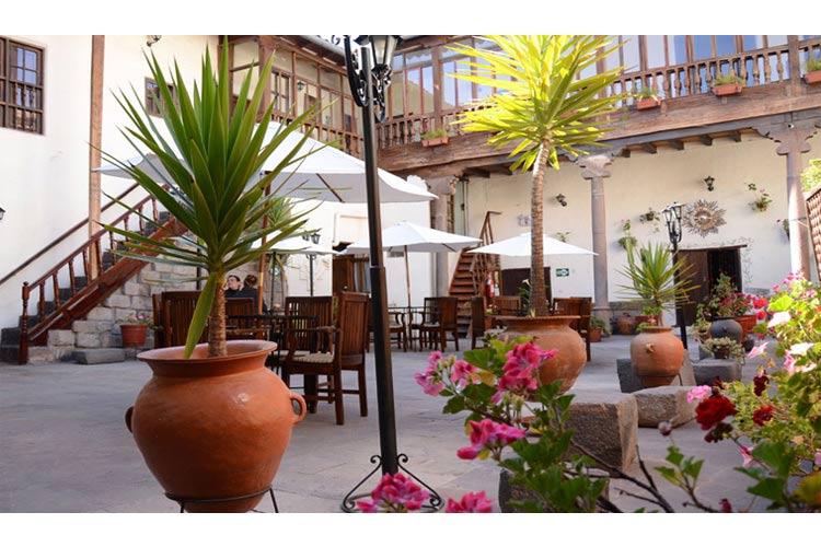 Courtyard - Unaytambo - Cusco
