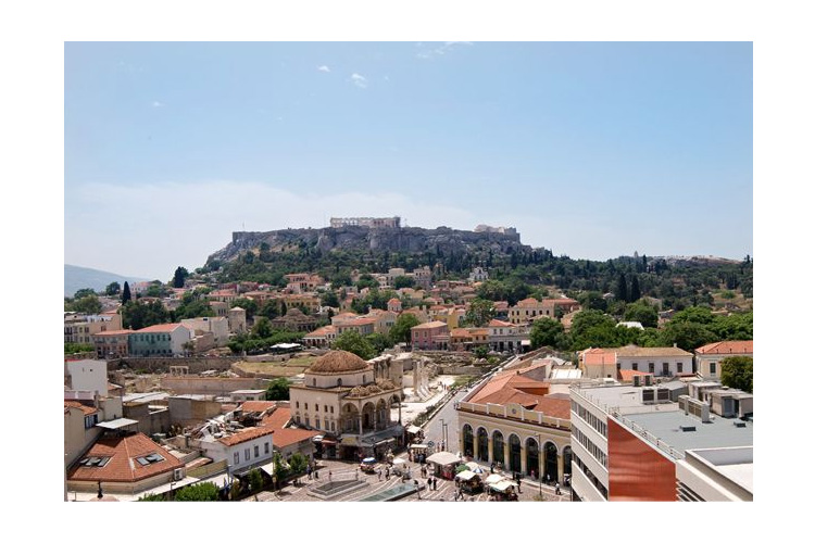 The View To the Acropolis - A for Athens - Athens