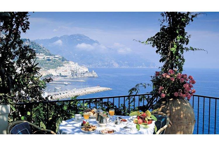 Terrace - Hotel Santa Caterina - Amalfiküste