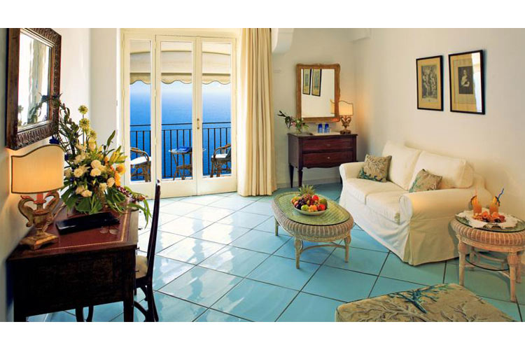 Deluxe Double or Twin Room with Sea View - Hotel Santa Caterina - Costa Amalfitana