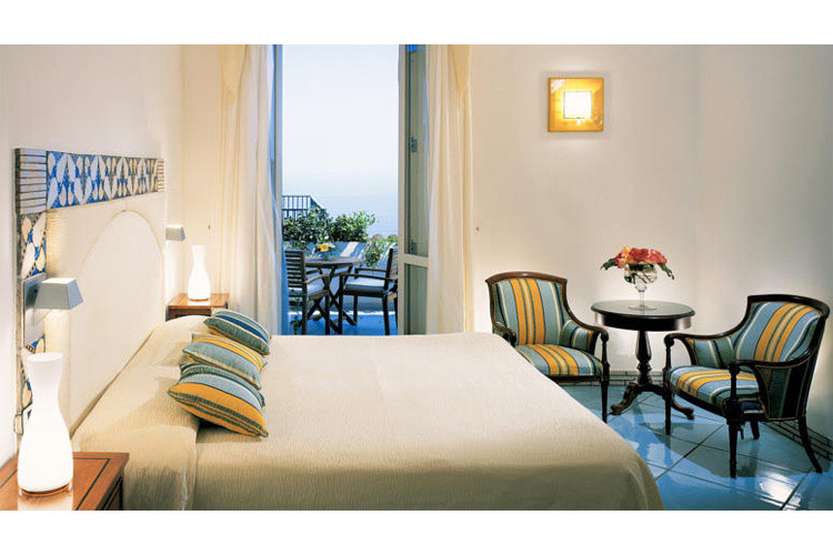Superior Double or Twin Room with Sea View - Hotel Santa Caterina - Costa Amalfitana