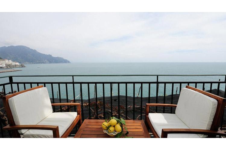 Junior Suite with Sea View - Hotel Santa Caterina - Amalfiküste
