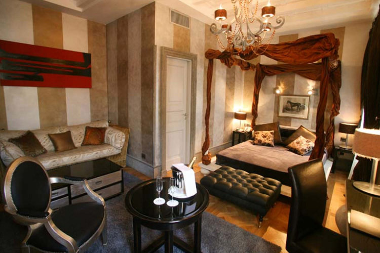 The inn at the roman forum a boutique hotel in rome for Great small hotels italy