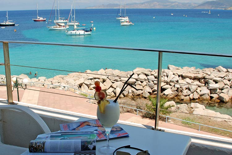 The Views from the Hotel - L'Escale Cote Sud - L'Île-Rousse