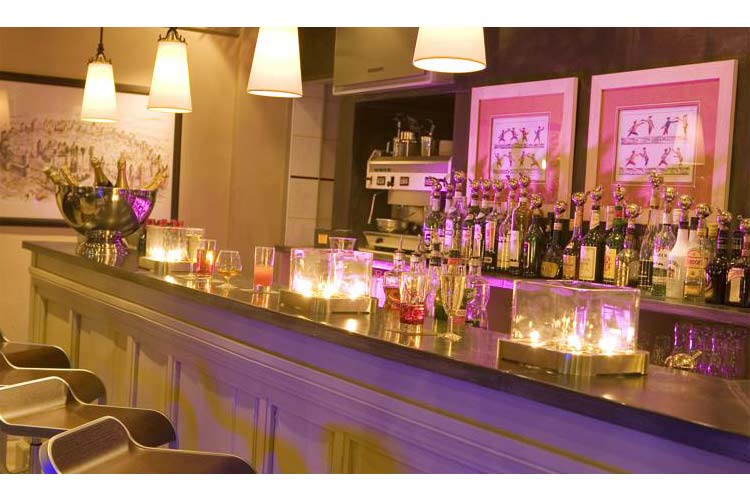 Bar - Hotel du Château - Carcassonne