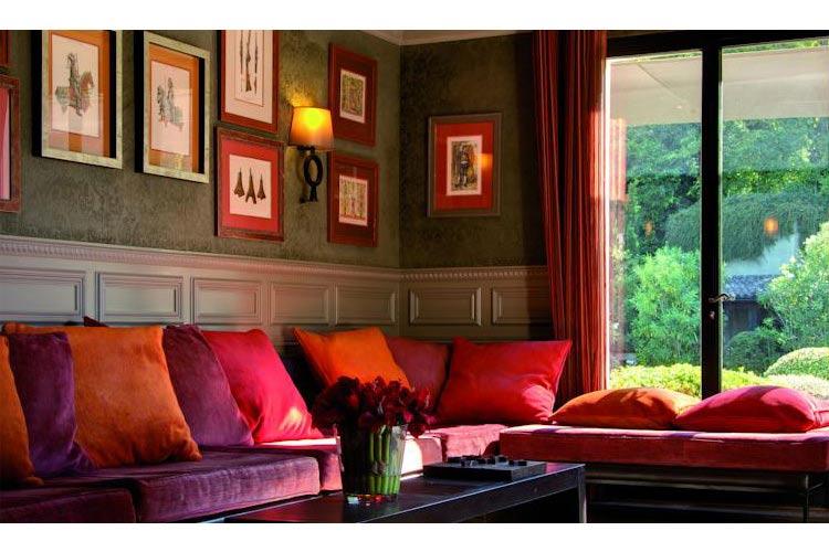 Lounge - Hotel du Château - Carcassonne