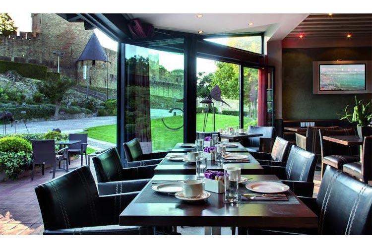 Restaurant - Hotel du Château - Carcassonne