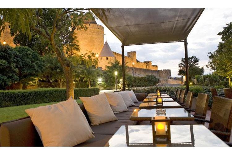 Terrace Restaurant - Hotel du Château - Carcassonne
