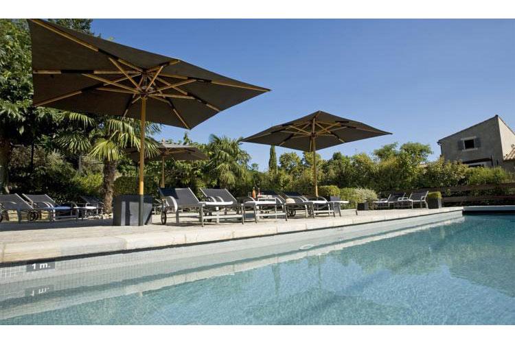 Swimming Pool - Hotel du Château - Carcassonne