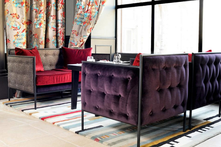 Lounge - Hôtel Les Dames du Panthéon - Paris