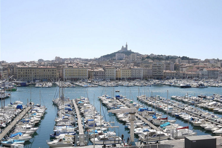 View from the hotel - Le Residence du Vieux Port - Marsella